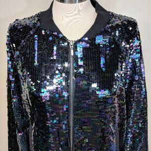 Victoria's Secret Jackets & Coats - Runway Victoria's Secret Sequined Bomber